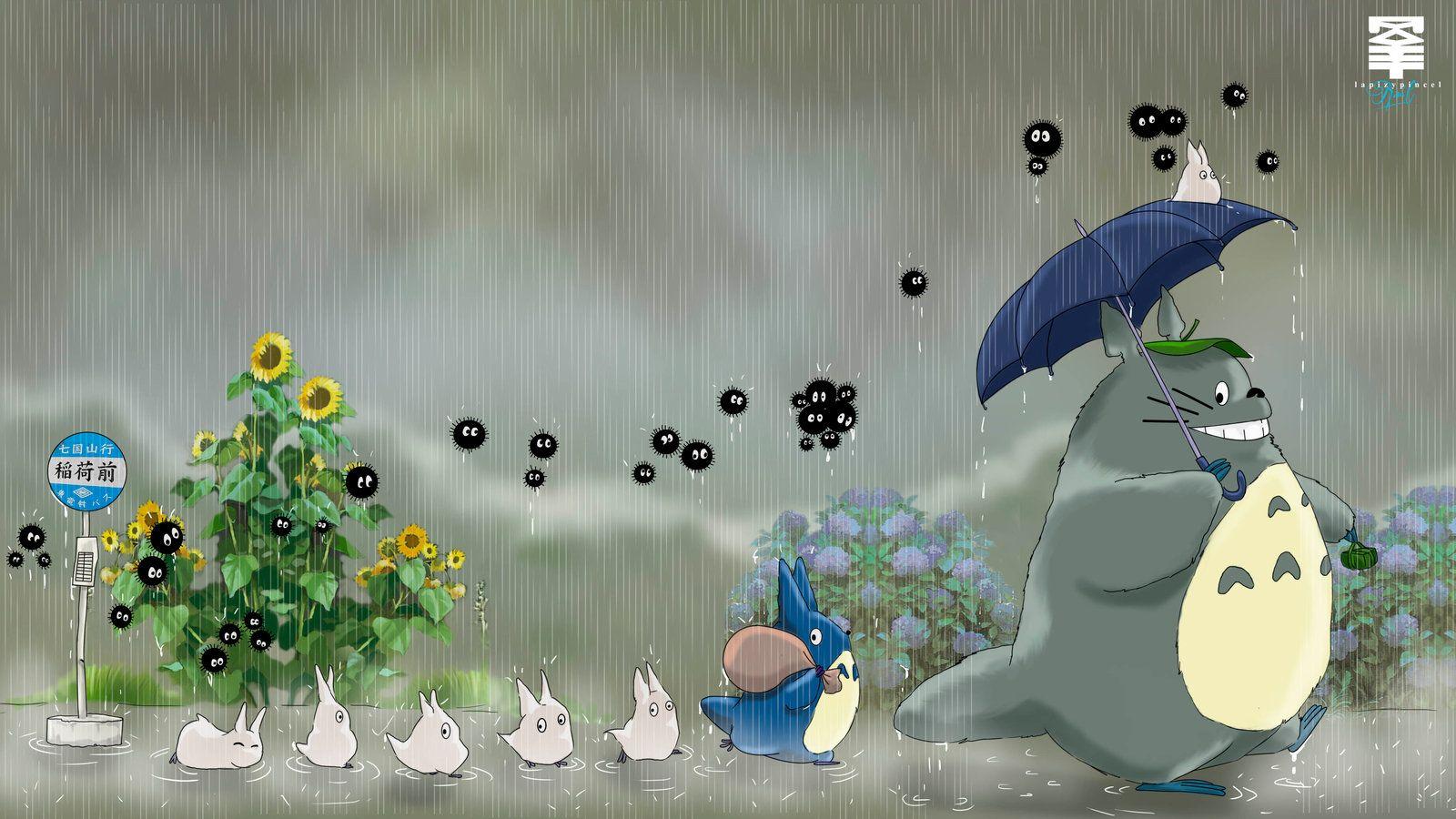 Resultado de imagen para totoro wallpaper Totoro