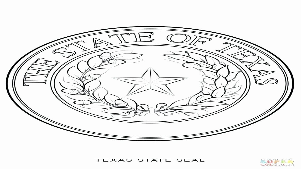 Michigan State Symbols Coloring Pages Fresh Delaware State Seal