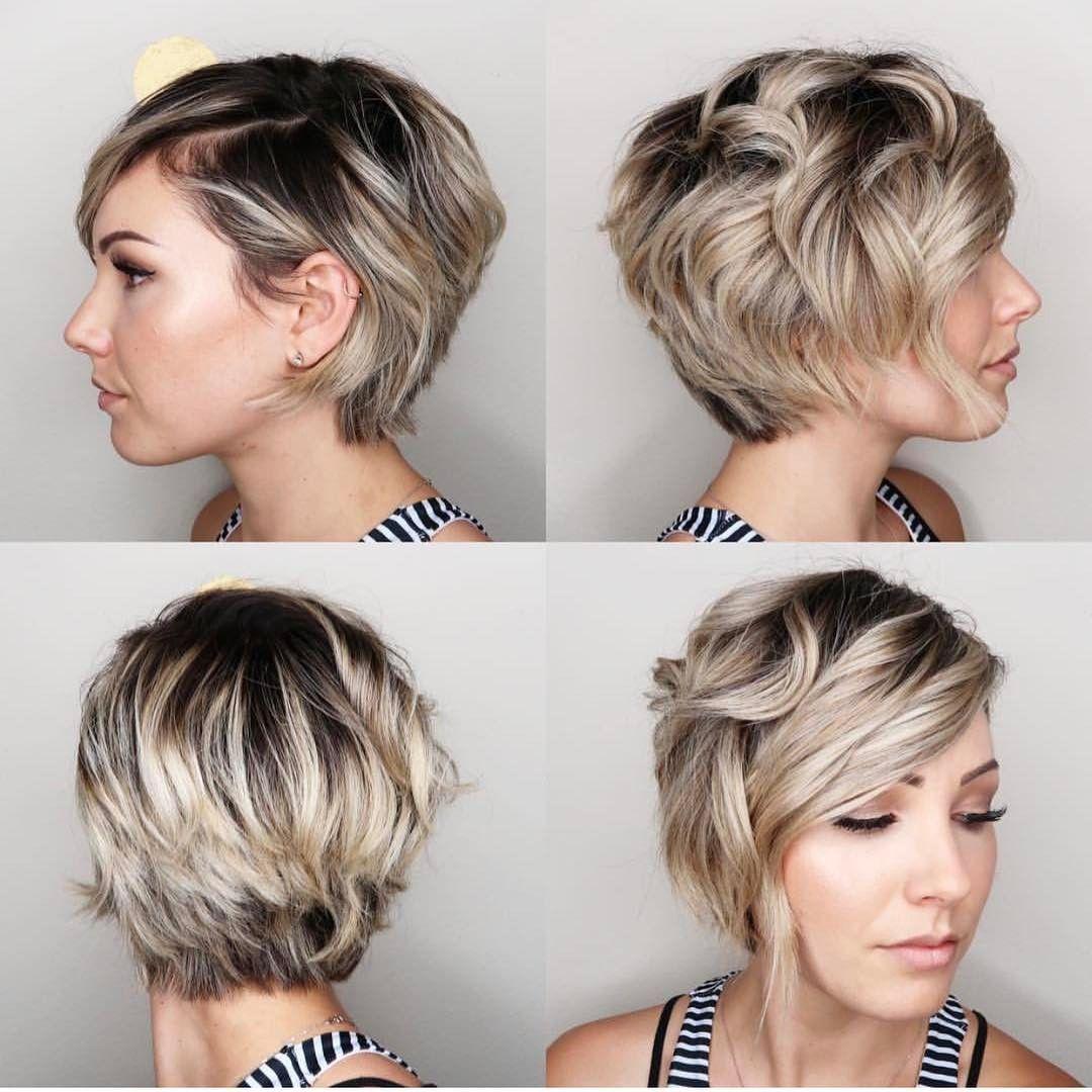 """3,738 kedvelés, 20 hozzászólás – @shorthair_love Instagram-bejegyzésének megtekintése: """"360 from @chloenbrown  #pixiecut #hair #haircut #hairstyle #shorthairlove #shorthair #blondehair"""""""