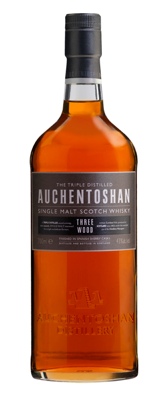 Auchentoshan Three Wood will turn upside down the preconceptions of aficionados and novices alike, as to what a Lowland Single Malt can be.