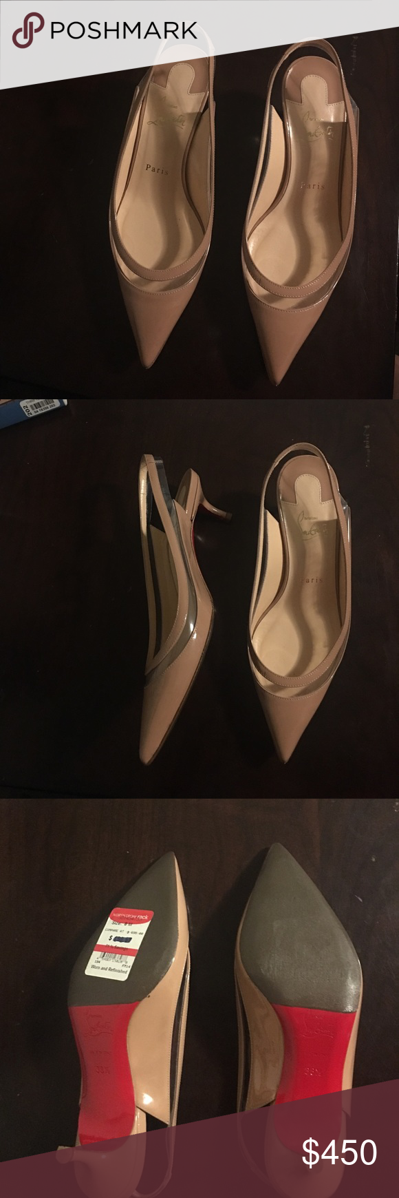 fee14e93729 Christian Louboutin kitten heels Refurbished from Nordstrom Rack ...