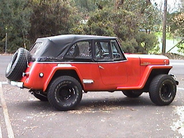 jeep jeepster jeepster convertible on a chevy chassis jeepster commando