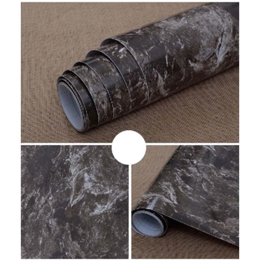 Pvc waterproof bathroom kitchen backsplash wallpaper cabinet vinyl