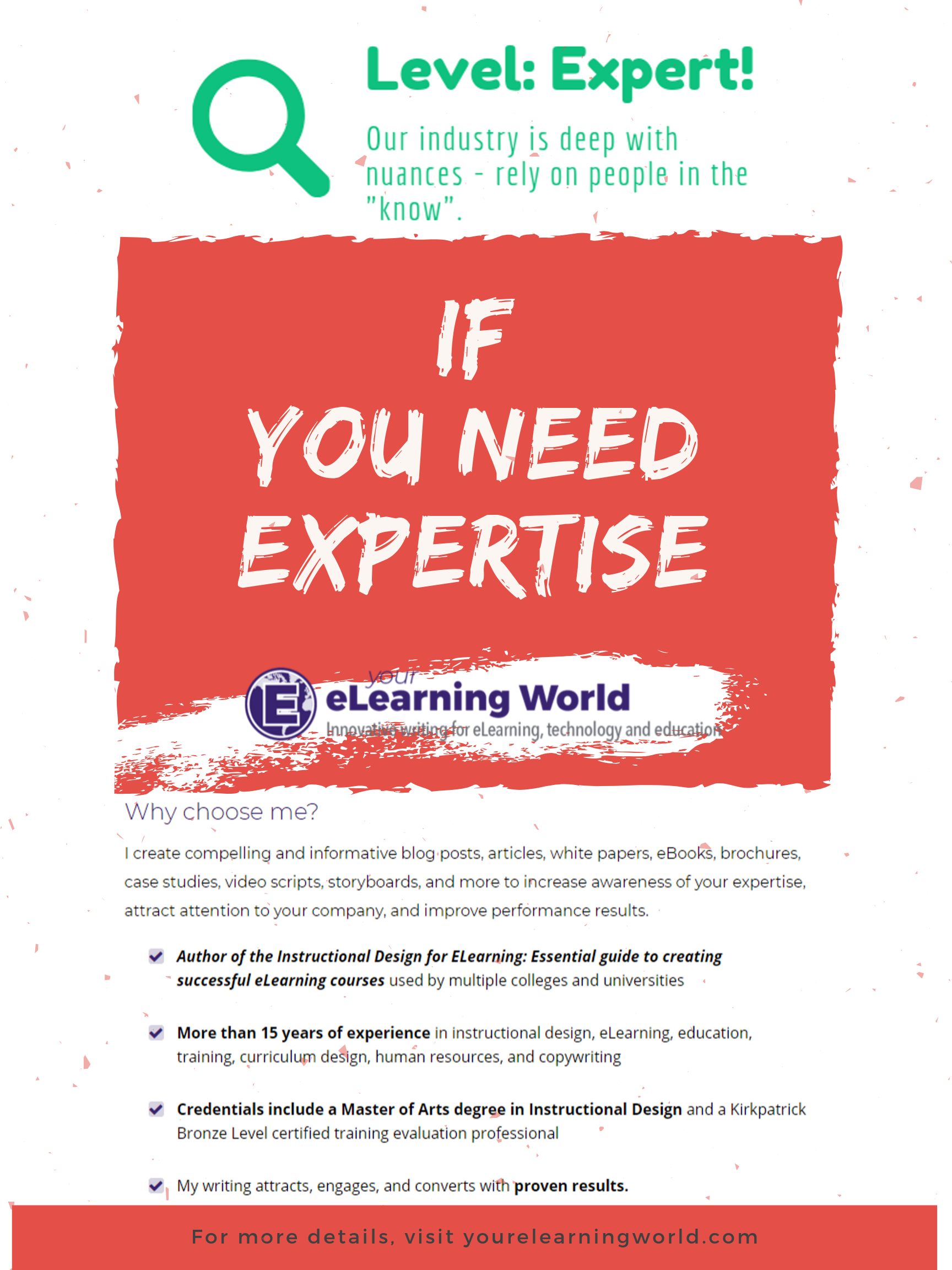 Finding A True Expert In Any Field Is A Challenge Moreover Weeding Out The Claimed Experts Verses Those That Actually Ha Elearning How To Know Video Script
