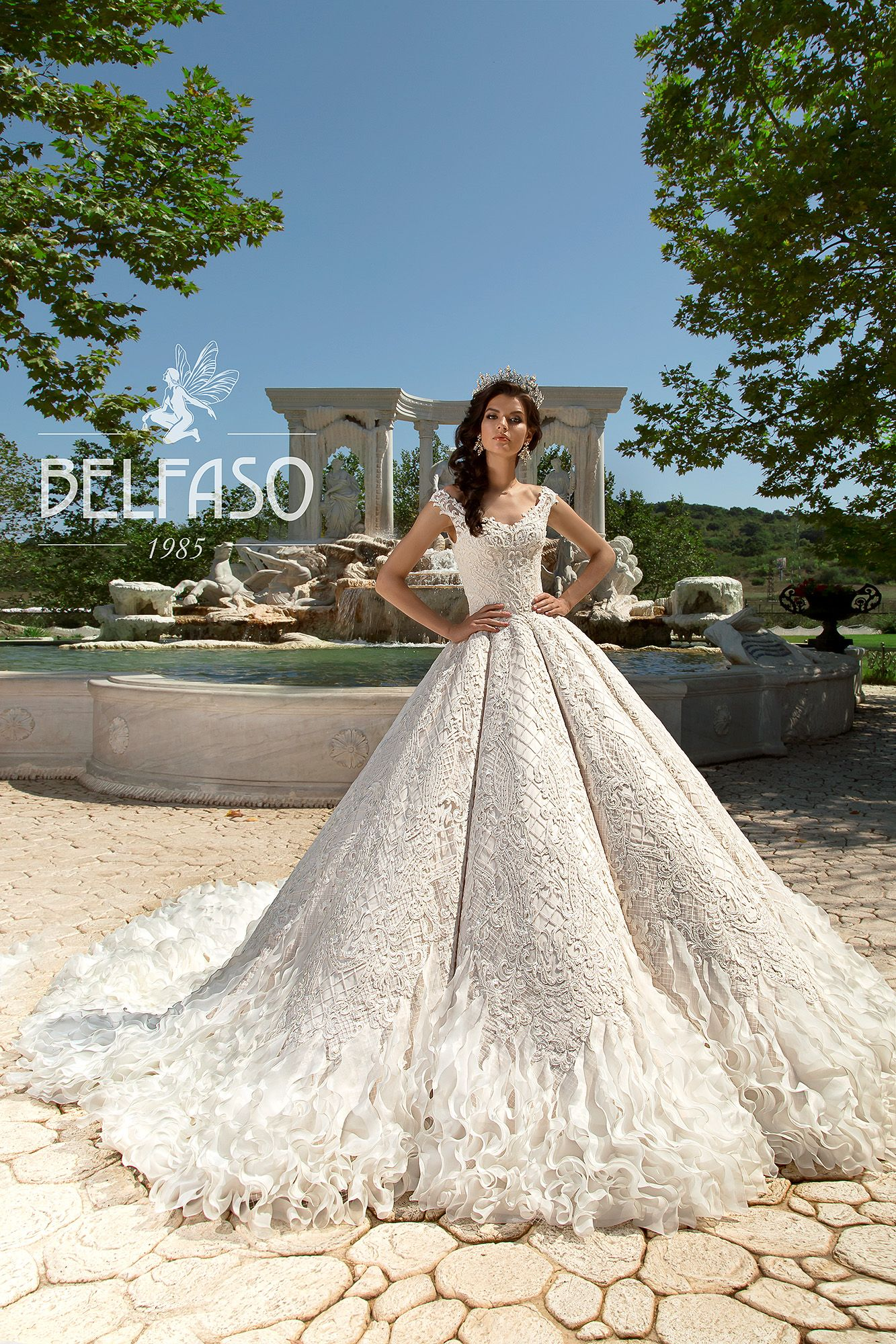 New 2018 Collection By Belfaso Couture In Charmé Gaby Bridal Gown Boutique Clearwater Fl