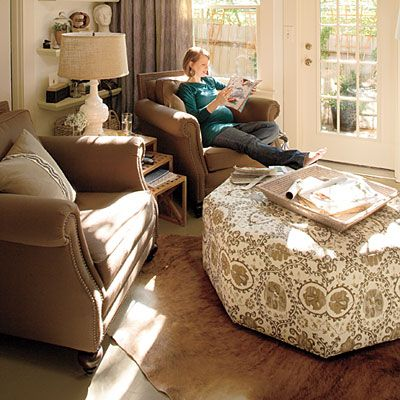 Cozy Den Update Small Sitting Rooms Living Room Makeover