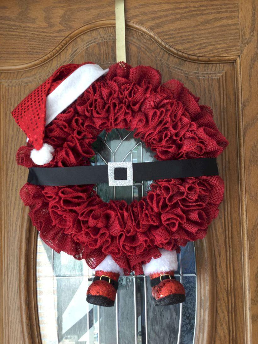 Photo of 49 Cheap DIY Christmas Wreath to Deck out Your Door – GODIYGO.COM