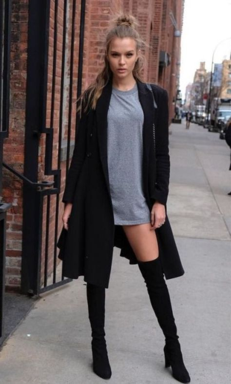 select proper Knee High Boots Outfit