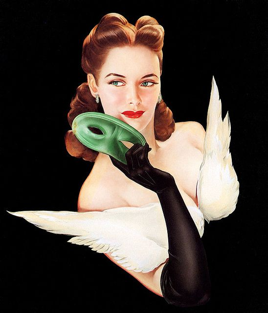 Alberto Vargas (1896- 1982) by Art & Vintage, via Flickr