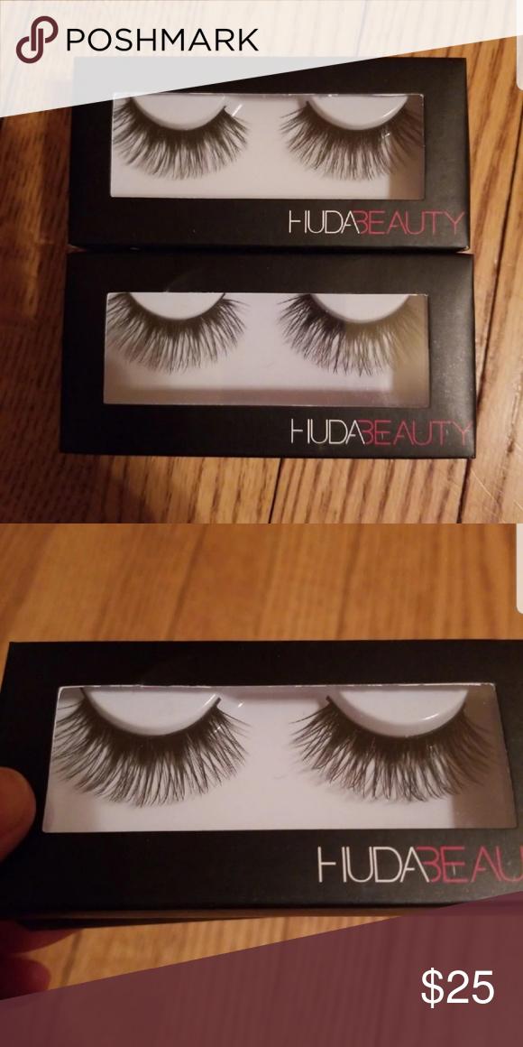 d817e7aed59 Huda beauty lashes 2 pairs of Naomi #15 lashes. New in box. HUDA BEAUTY  Makeup False Eyelashes