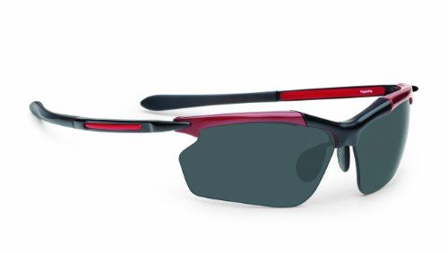 7522c7513d8 Callaway Golf Men s Razr Hyperlite Neox NX14 Lens Sunglasses (Black Red  Frame