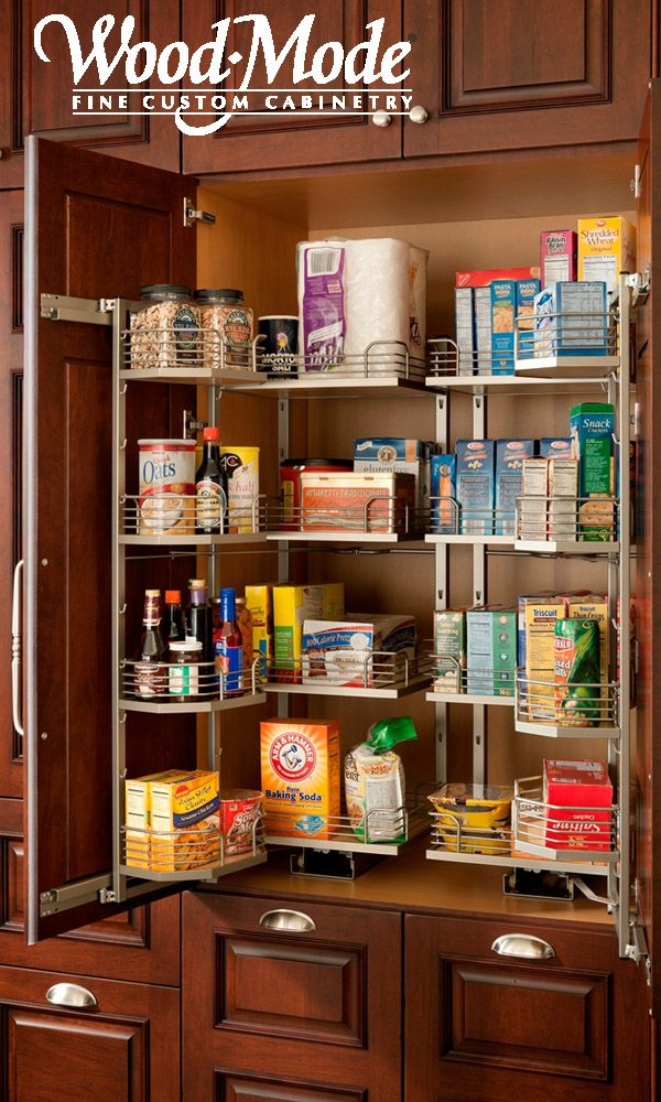 Pantry Storage Photo Courtesy Of Wood Mode Cabinetry Cupboard Design Simple Kitchen Cabinets Kitchen Cupboard Designs