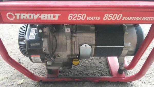Replaces Troy Bilt Generator 6250 Watts Model 030594