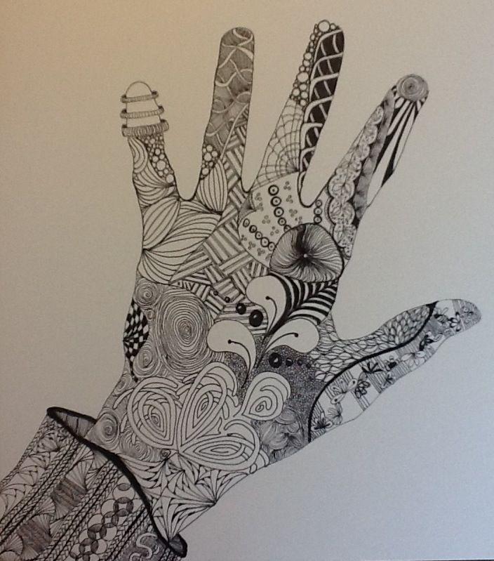 Zentangle by Kim C. Ha...