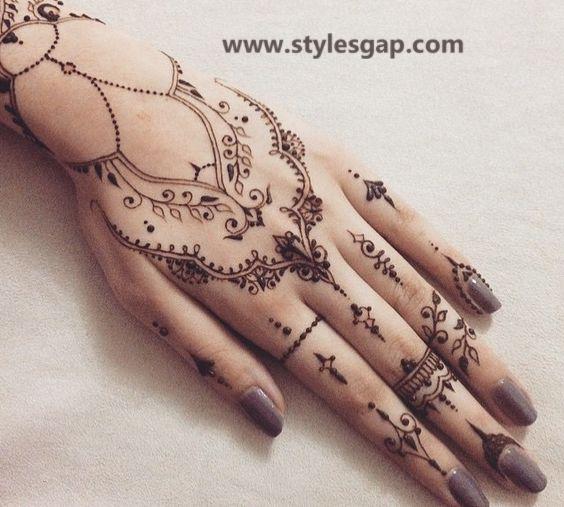 Simple Easy Eid Mehndi Designs 2020 2021 Latest Collection Henna Tattoo Designs Hand Henna Henna Tattoo