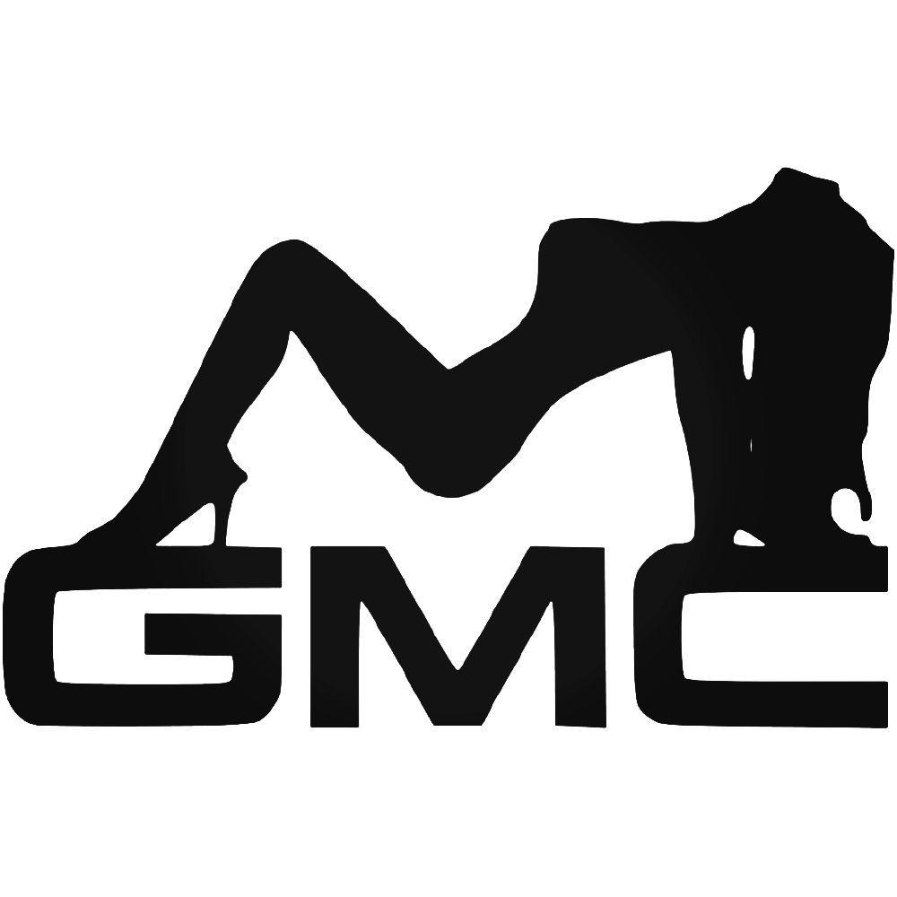Gmc sexy girl vinyl decal sticker ballzbeatz com vinyl decals car decals silhouette