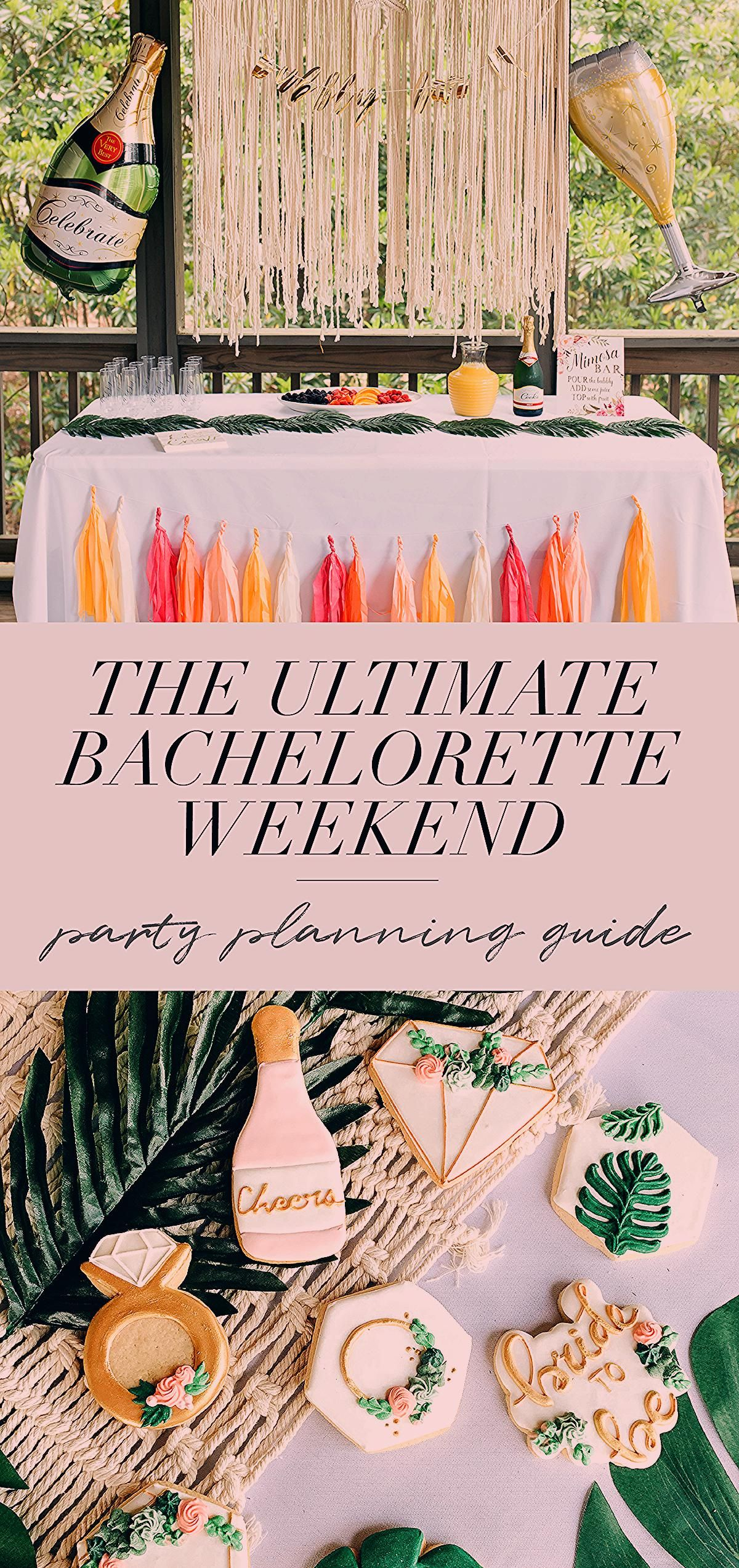 Photo of The Ultimate Bachelorette Party Planning Guide | Ashley Hodges