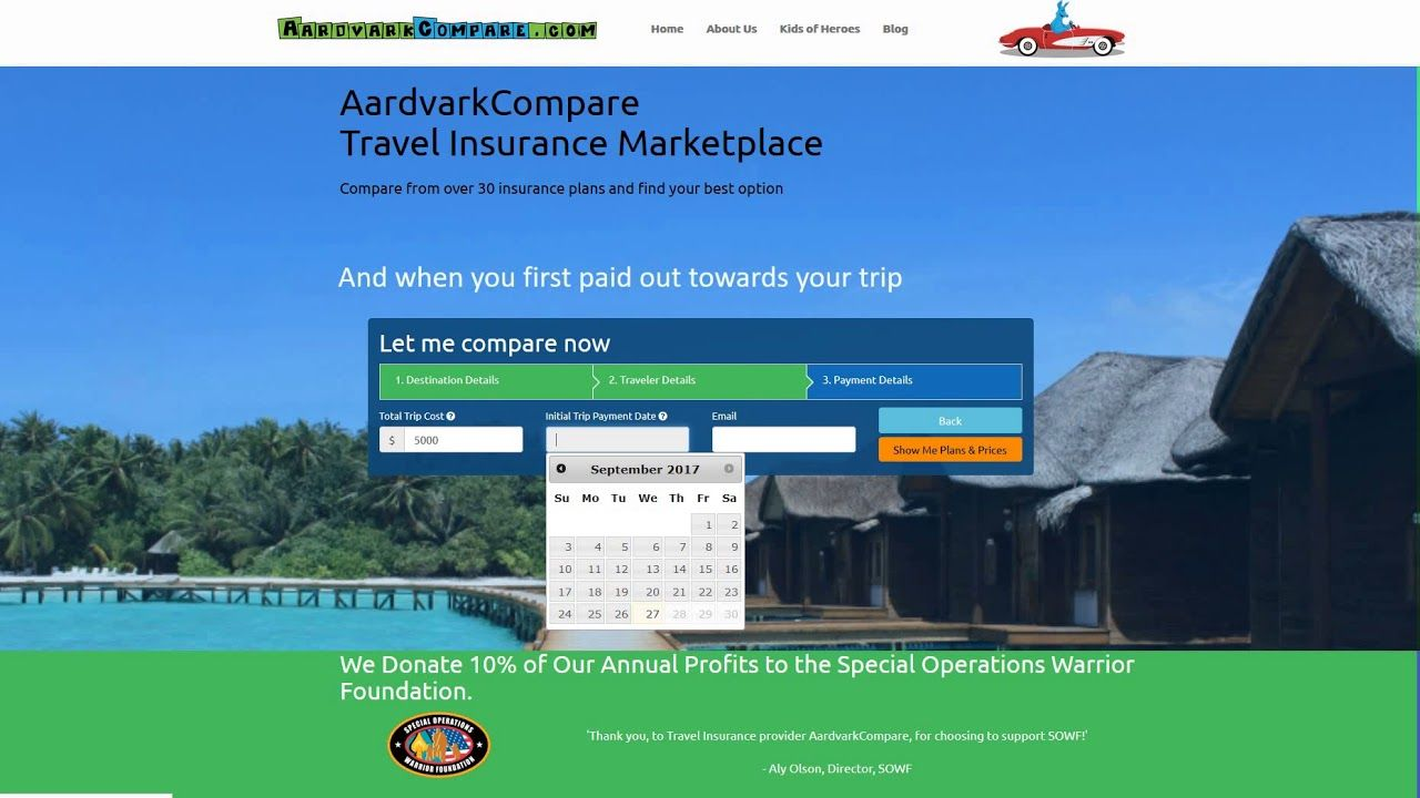 Trip Insurance Store Aardvarkcompare Travel Insurance Reviews