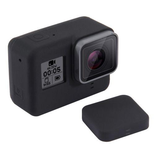 [$1.44] For GoPro HERO5 Silicone Protective Case with Lens Cover