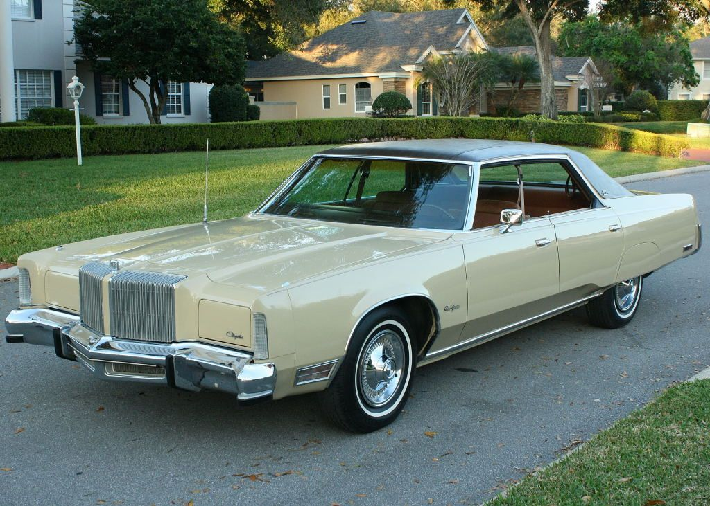 1977 Chrysler New Yorker Brougham With Images Chrysler New