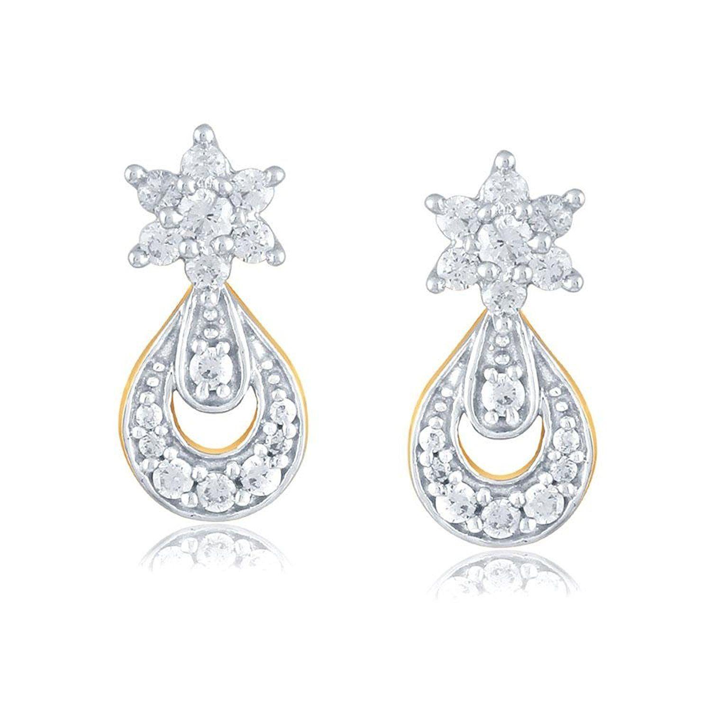 Giantti Women S 14kt Diamond Stud Earring