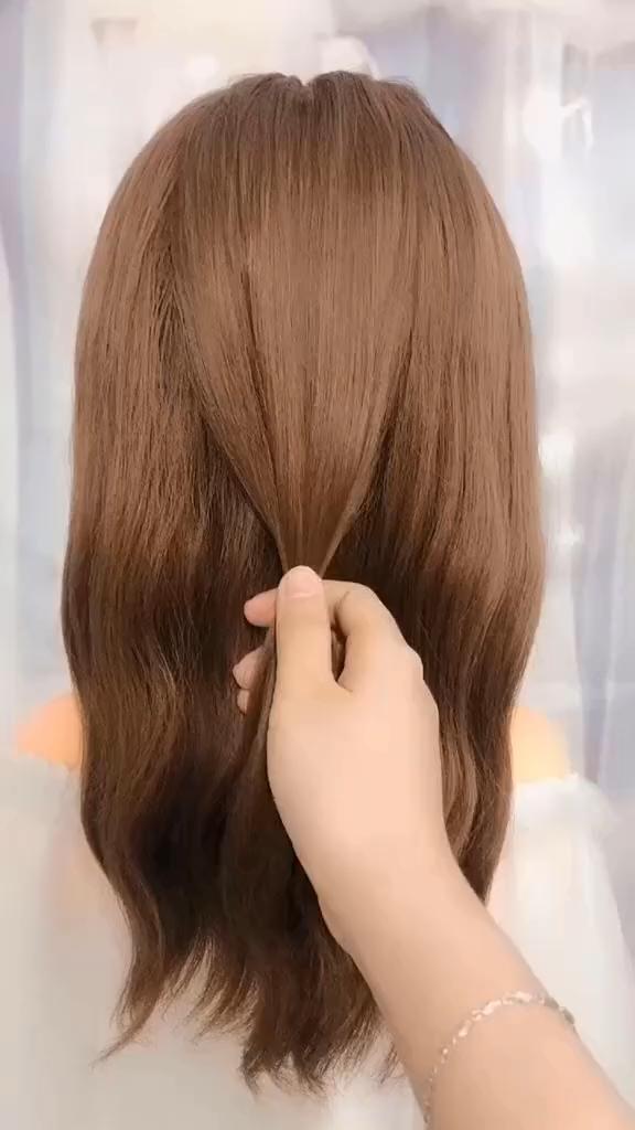 Frisuren für lange Haare Videos Frisuren Tutorials Compilation 2019   Te ...,  #compilation #frisuren #haare #lange #tutorials #videos