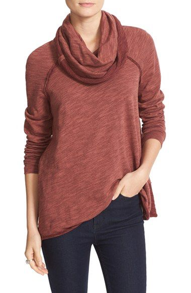 af587bfd31 Free People Free People 'Beach Cocoon' Cowl Neck Pullover available at  #Nordstrom