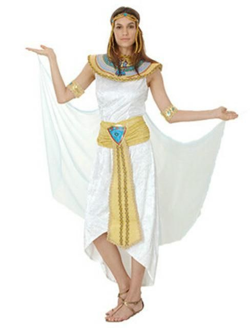 CHILD/'S EGYPTIAN GIRL COSTUME QUEEN OF THE NILE CLEOPATRA FANCY DRESS PHARAOH