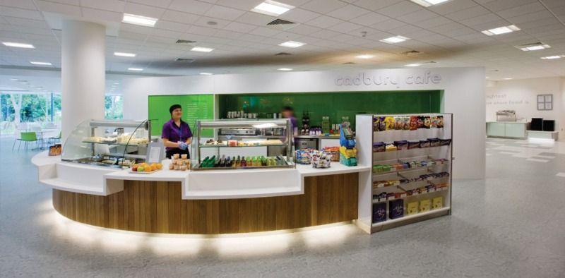Elegant Inviting And Pleasant Cafe Shop Interior Design Of Cadbury Office In Uxbridge