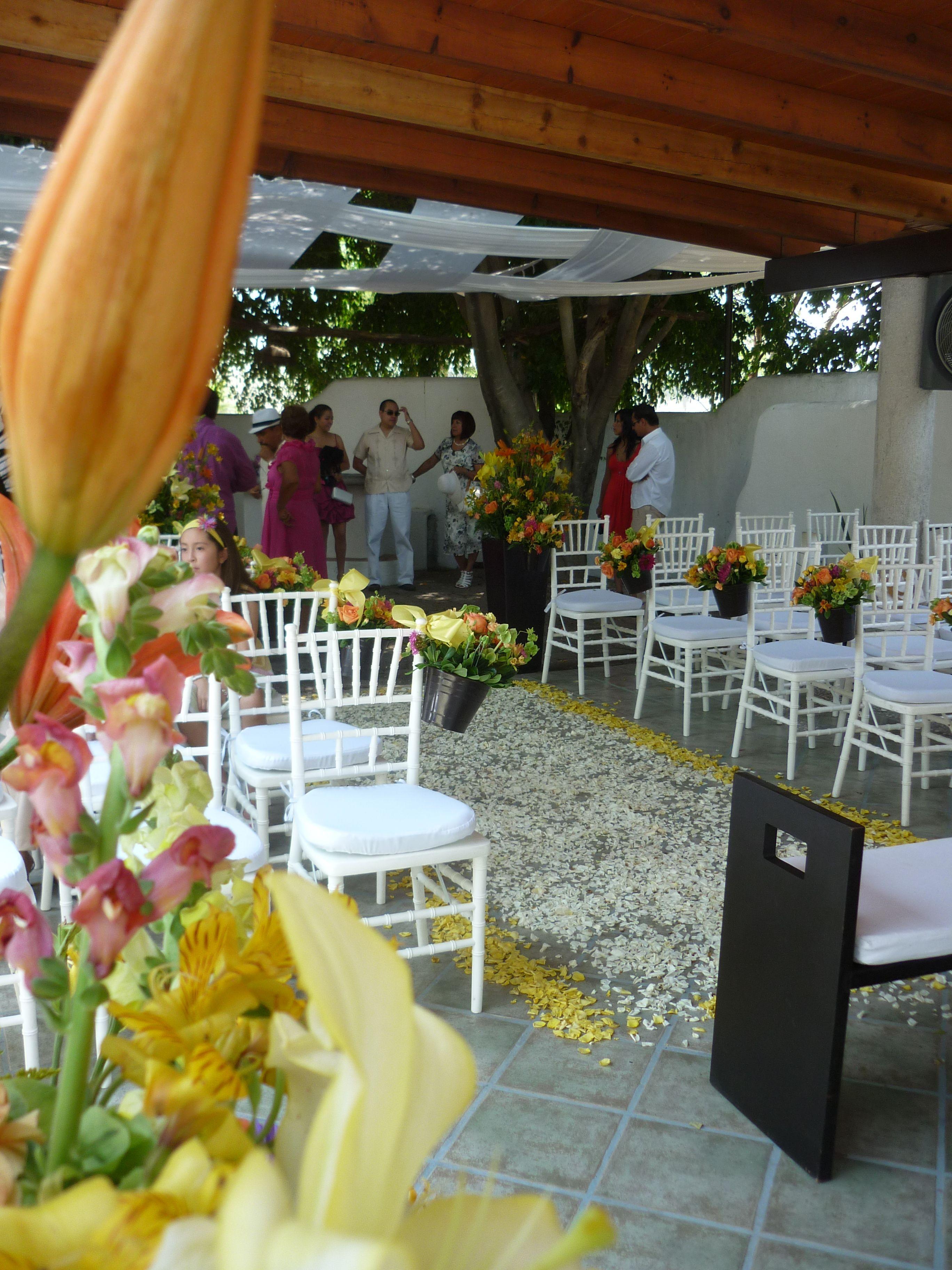 Flores Para Ceremonia Quinta Pavo Real Del Rincón Www