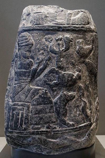Kudurru dated to the reign of Marduk-apla-iddina I. from 1179 until 1159 BC, Iran. Limestone.
