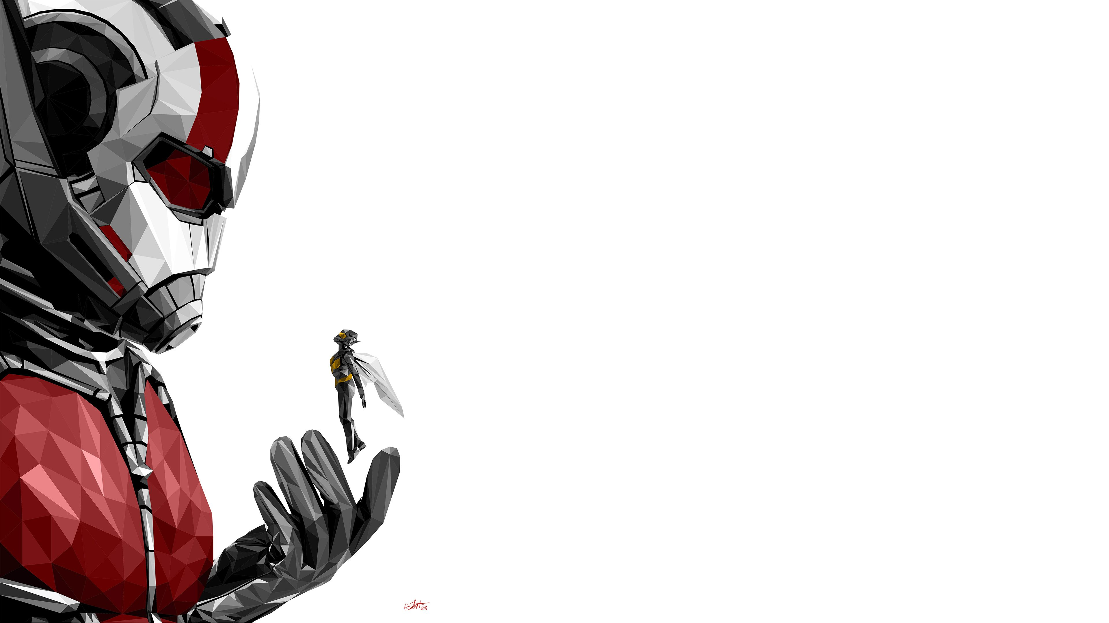 Ant Man And The Wasp Movie 4k Movies Wallpapers Hd Wallpapers Digital Art Wallpapers Behance Wallpapers Artist Wa Movie Wallpapers Wasp Movie Man Wallpaper