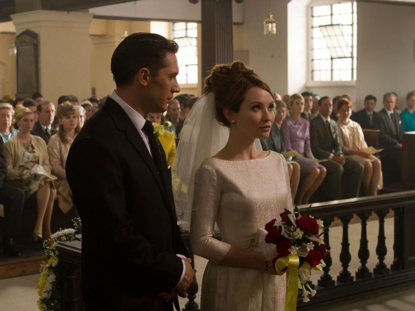 Legend movie   Tom hardy legend, Movie wedding dresses, Emily browning