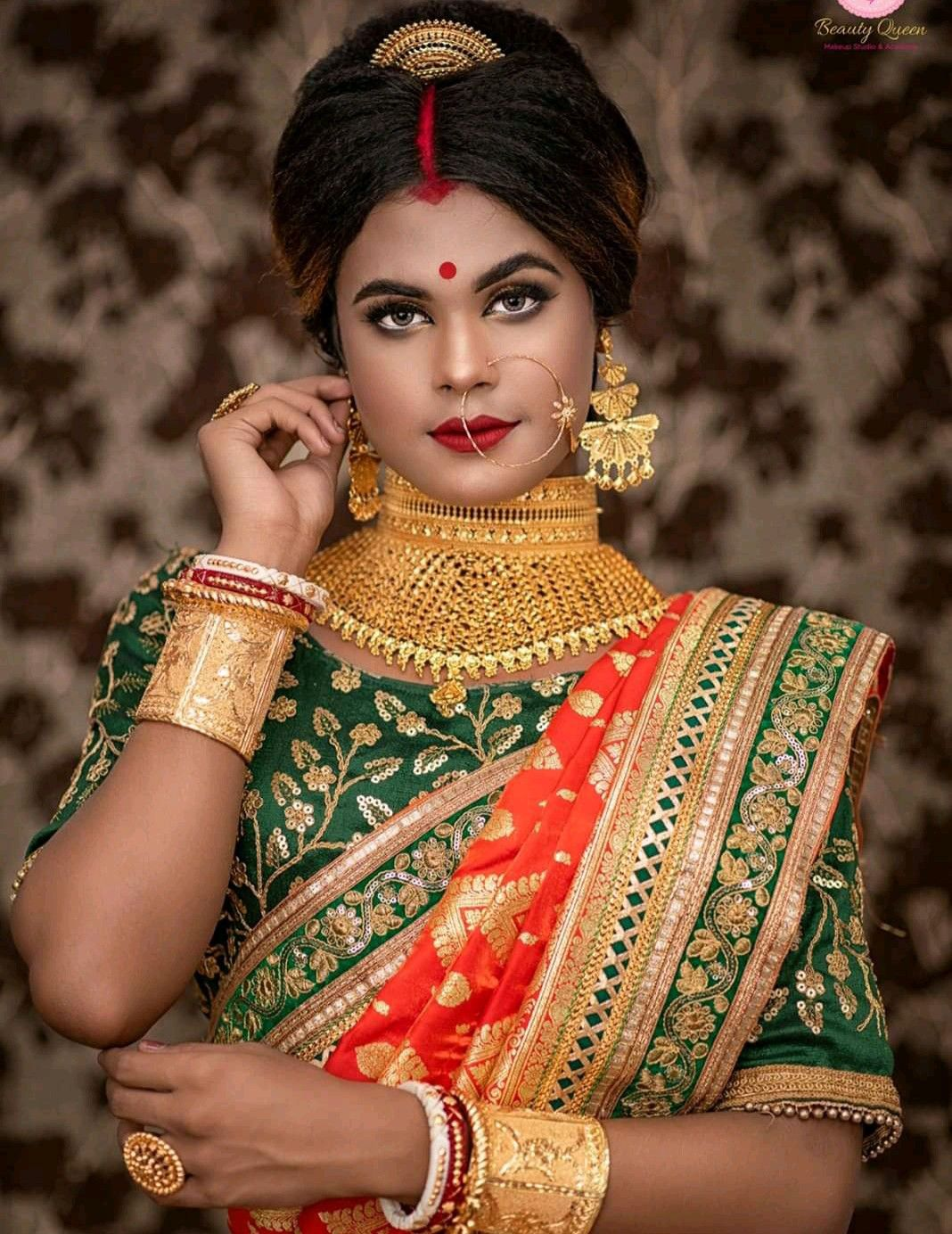 Pin by MADHUⓂ️ on bridal makeover South indian bride