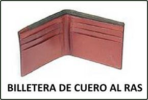 eab3c6368 Molde básico completo en PDF de una Billetera de Cuero, con varios  compartimientos, haz