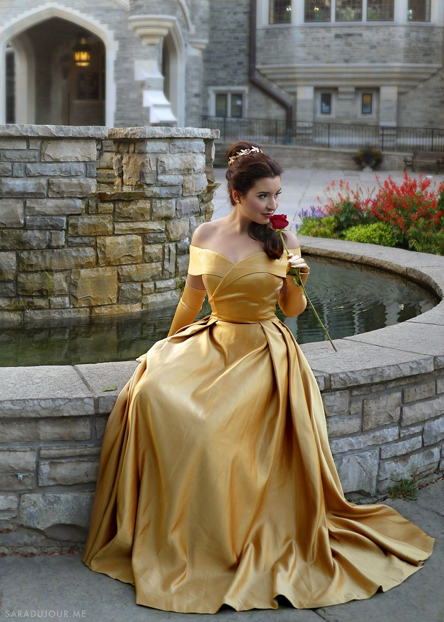 465ab4a35 Belle Gold Dress Costume + Cosplay | Sara du Jour | My blog: Sara du ...