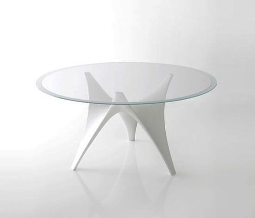 Bon Modern Glass Dining Table | Http://www.designrulz.com/spaces