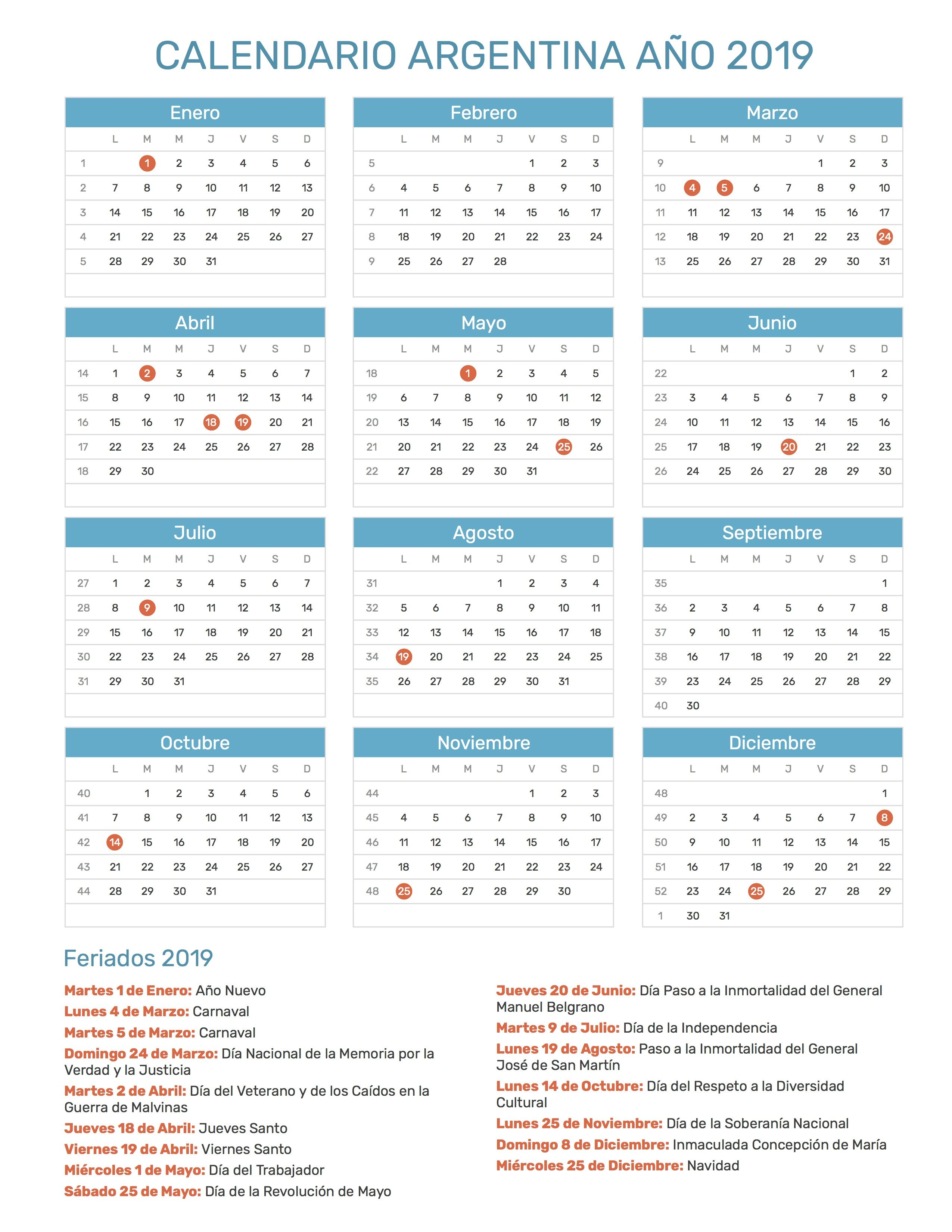 Calendario Chile 2019 Feriados.Pin De Cooper En Profesor Teacher Methodology Calendario