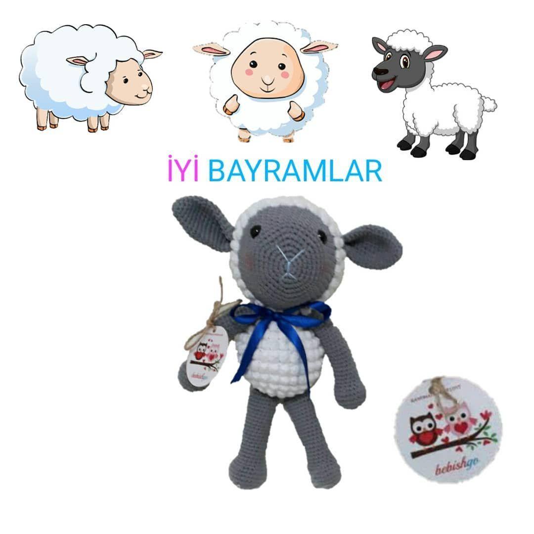 Herkesin Kurban Bayramı Mübarek Olsun???????????????????? . . . . ı   Amigurumi doll muslim #kurban #kurbanbayram #islam #muslim #toys #toystagram #dollstagram #doll #instagood #instagram #instawood #like2like #likeme #like4like #likeforlike #likeforfollow #liketolike #happyday #goodnight #love #sheep #amigurumi #knitting #knittinglove #crochet #lo