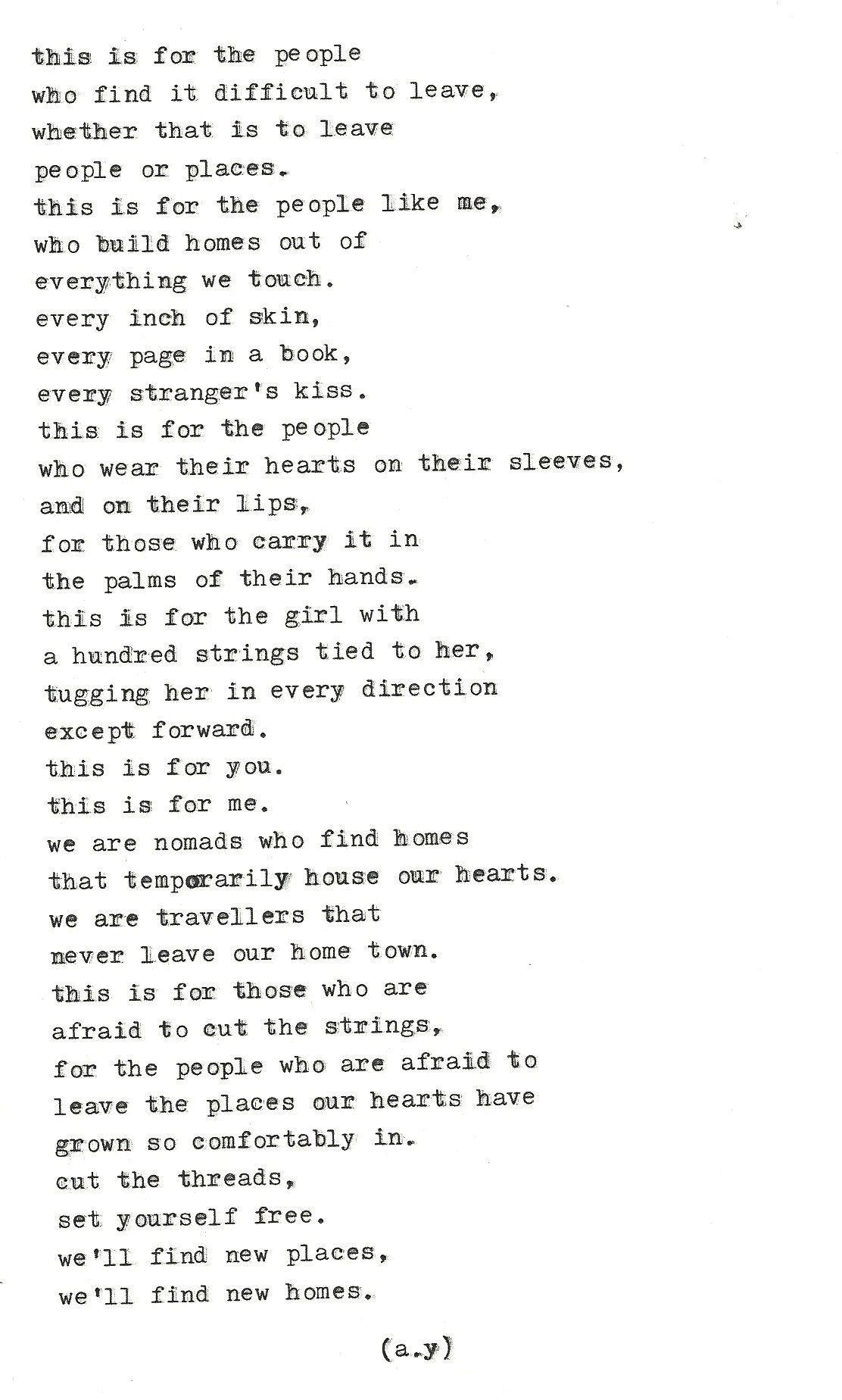 words for breakfast; — Typewriter Series #82