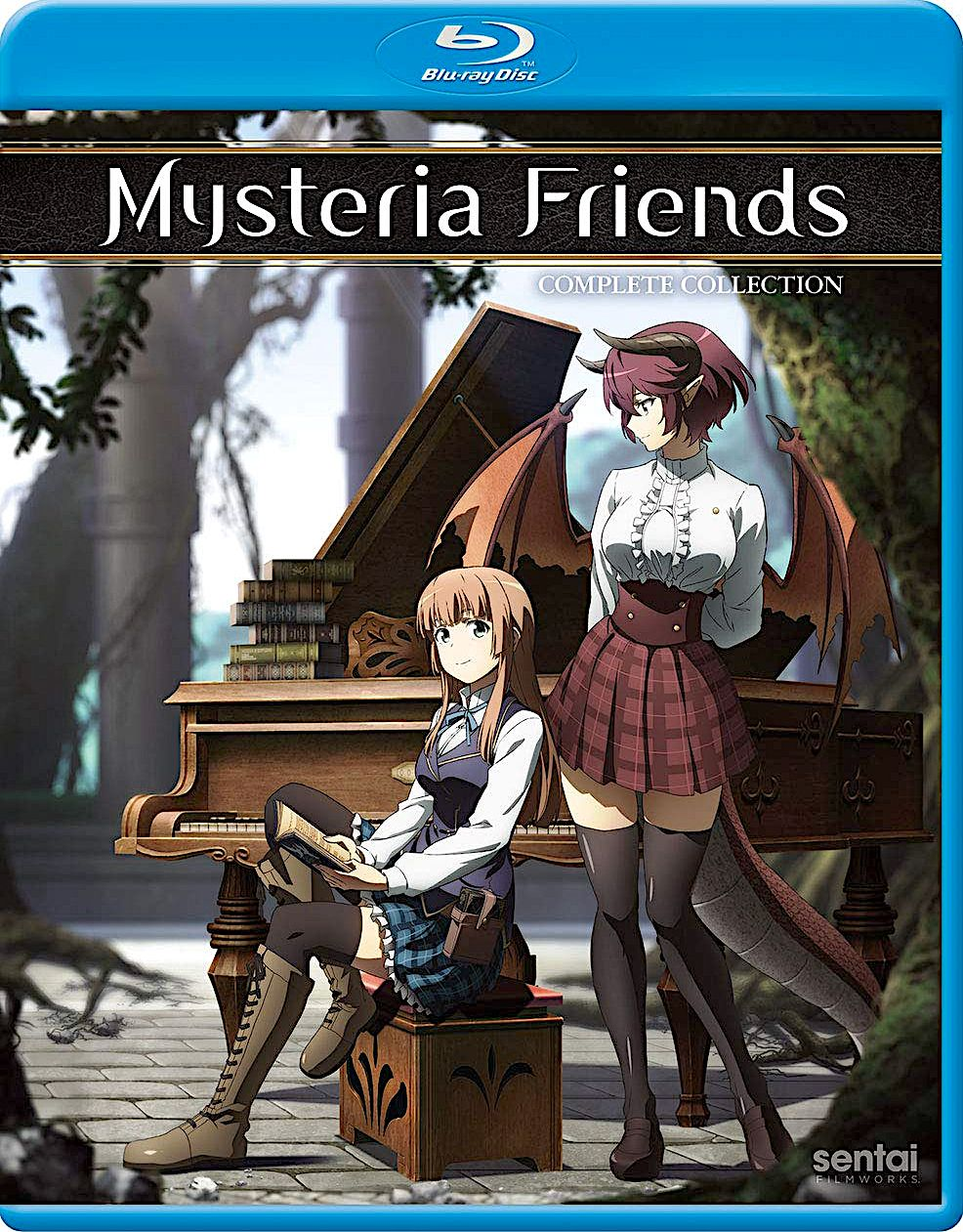 MYSTERIA FRIENDS THE COMPLETE COLLECTION BLURAY SET