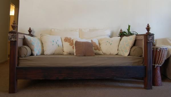 Salvaged Wood Daybed Do It Yourself Home Projects from Ana White
