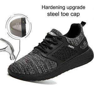 MARITONY Steel Toe Work Safety Shoes