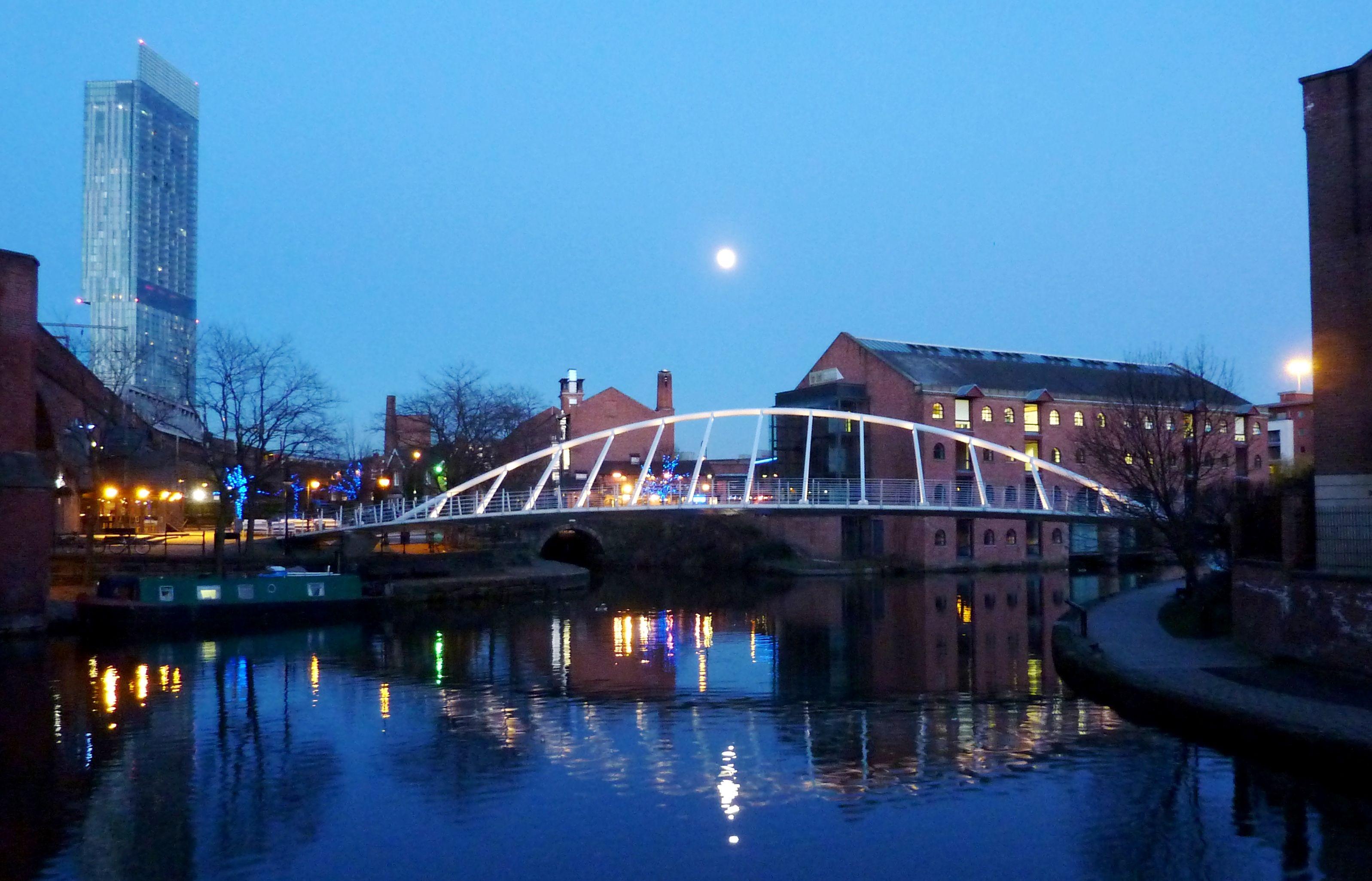 Merchants Bridge #Castlefield As seen from #PotatoWharf #BridgewaterCanal