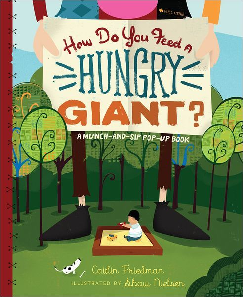"""How Do You Feed a Hungry Giant?: A Munch-and-Sip Pop-Up Book / BookLodge Price US$17.10 / HK$133 / In this interactive picture book, the reader gets to help Oscar feed the giant. But despite Oscar's best efforts—he cleaned out the fridge AND the pantry!—the giant still remains hungry…. A """"feed a giant"""" recipes are included in the book, printed in a separate 8-page mini cookbook, and are ideal for a kid's party./ Available @ www.BOOKLODGE.com - Lowest Priced Chinese and English Online…"""
