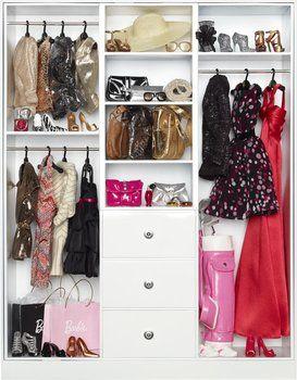 Guardaroba Di Barbie.Barbie Collector Guardaroba Y3354 Mobili Di Barbie