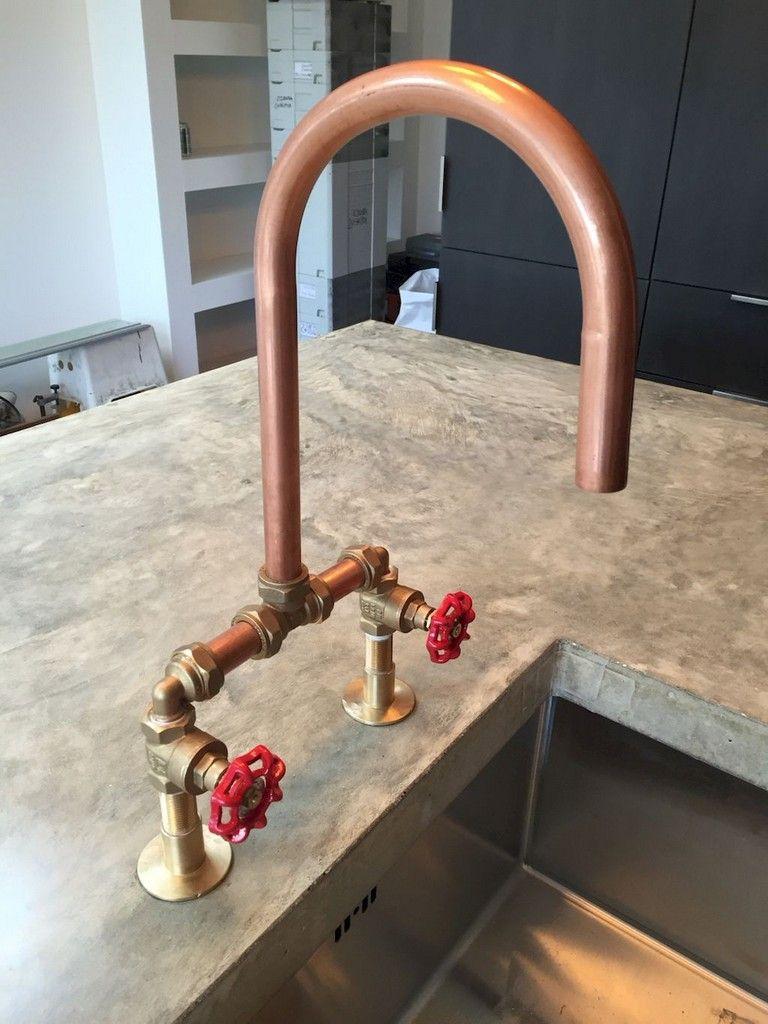55 Marvelous Industrial Kitchen Style Ideas Outdoor Kitchen Design Outdoor Kitchen Countertops Outdoor Sinks