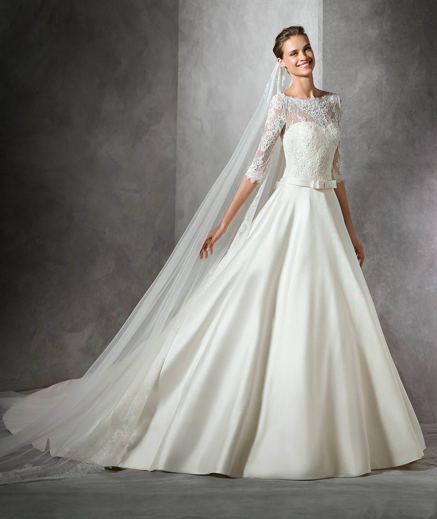 Toricela Princess Style Wedding Dress Pronovias Wedding Dress Wedding Dresses Contemporary Wedding Dress