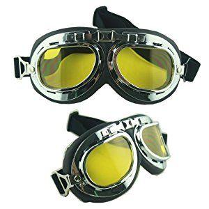 Thg Motorbike Mountain Bike Goggles Arc Mirror Yellow Lens Amazon
