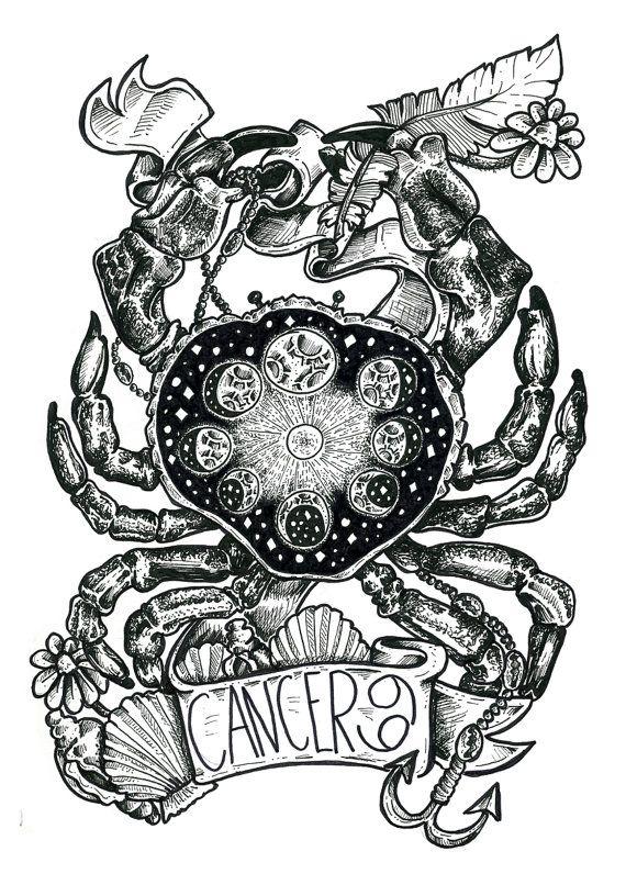 cosmic cancer crab cancer pinterest sternzeichen. Black Bedroom Furniture Sets. Home Design Ideas